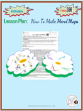 {EDITABLE} Lesson Plan: How to make Mind Maps