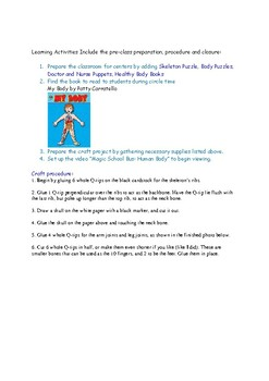 Lesson Plan Ideas for Teaching Health to PreK Preschool 4 year olds