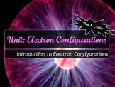 Lesson Plan: Intro To Electron Configurations - Notes, HW, and PPT