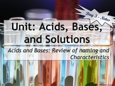 Lesson Plan: Introduction to Acids and Bases