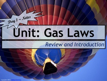 Lesson Plan: Introduction to Gas Laws