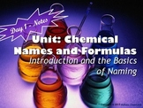 Lesson Plan: Introduction to Naming and Formula Writing