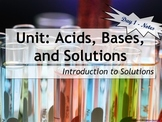 Lesson Plan: Introduction to Solutions