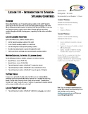 Lesson Plan - Introduction to Spanish-Speaking Countries (Lesson 10)