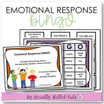 SOCIAL SKILLS  Emotional Responses { Lesson Plans & Activities For k-5th Grade }