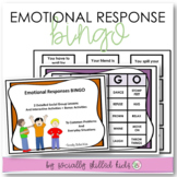 EMOTIONAL RESPONSES BINGO || Differentiated SEL Activities