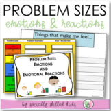 PROBLEM SIZES, EMOTIONS and REACTIONS || Differentiated Activities For K-5th