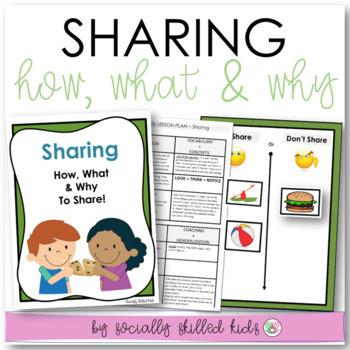 SOCIAL SKILLS: Sharing~ Lesson Plans And Interactive Activities