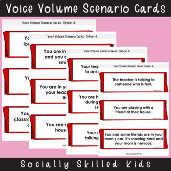 SOCIAL SKILLS ACTIVITIES: Voice Volume/Tone Of Voice {Differentiated For k-5th}