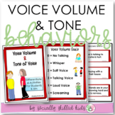 SPECIAL EDUCATION Voice Volume & Tone {Differentiated Activities For K-5th}