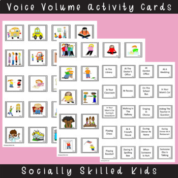 Voice Volume and Tone of Voice {Differentiated Activities For K-5th}