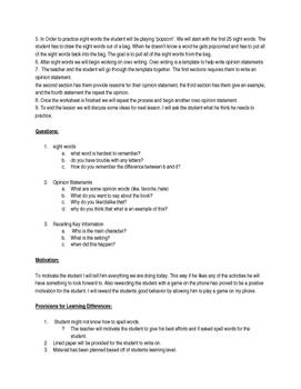 Lesson Plan: Kindergarten  CCSS.ELA-LITERACY.W.K.1