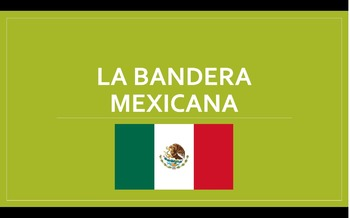 "Lesson Plan: ""La Bandera Mexicana"" with PPT and Worksheet"