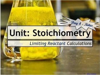 Lesson Plan: Limiting Reactant Calculations