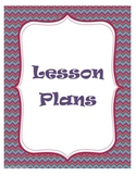 Lesson Plan & Months of the Year Binder Covers