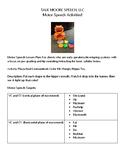 Lesson Plan: Motor Speech Activity: Hippo Shapes!