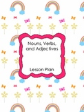 Lesson Plan: Nouns, Verbs, and Adjectives