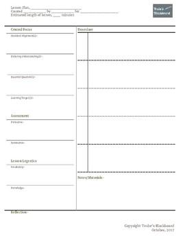 Lesson Plan Outline