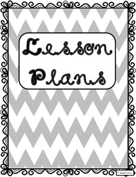 Lesson Plan Pages