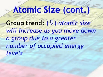 Lesson plan periodic table trends atomic size radius by msrazz lesson plan periodic table trends atomic size radius urtaz Images