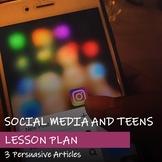 PERSUASIVE ARTICLES - Social Media Theme - Lesson Plan