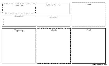 Lesson Plan Place Mat