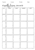 Lesson Plan & Punctuality Template