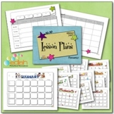 Lesson Plan Sheet and Calendars