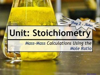 Lesson Plan: Stoichiometry - Mass-Mass Calculations