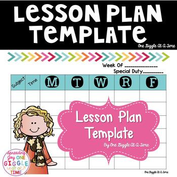 Lesson Plan Template