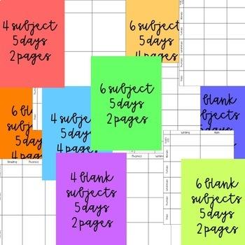 Lesson Plan Template | EDITABLE | Google Slides | PowerPoint | PDF