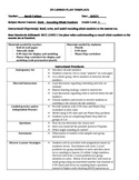 Lesson Plan Template - 3rd Grade Math - Rounding Whole Numbers to Nearest 10