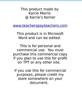 Lesson Plan Template (Commercial Use)
