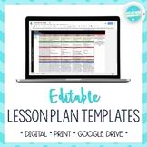 Lesson Plan Template   EDITABLE - Google Drive