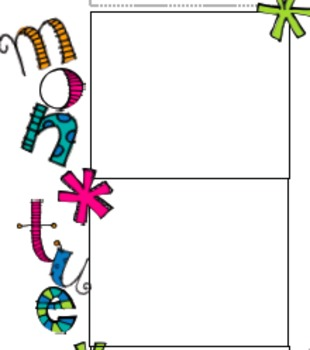 Lesson Plan Template Easy to use for Binder Fun and Colorful Style