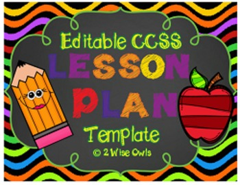 Lesson Plan Template-Editable
