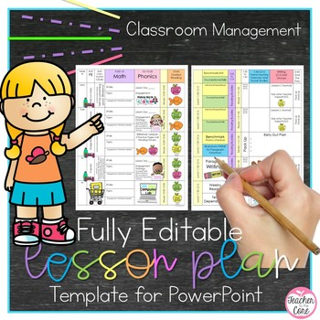 Lesson Plan Template Editable