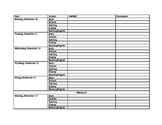 Lesson Plan Template-Elementary