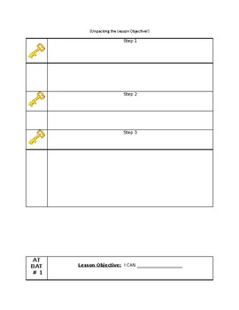 Lesson Plan Template: For all subjects!