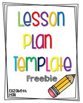 Lesson Plan Template Freebie