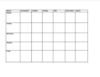 Lesson Plan Template, Micro... by mary caldwell | Teachers Pay ...