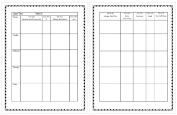 Lesson Plan Template (Microsoft Word File)