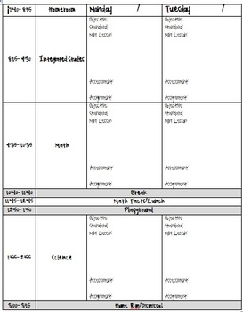 Lesson Plan Template -- Overall