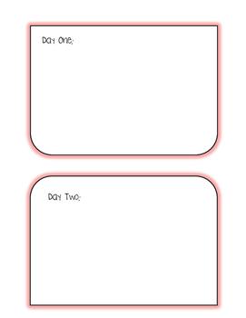 Lesson Plan Template  (PDF)