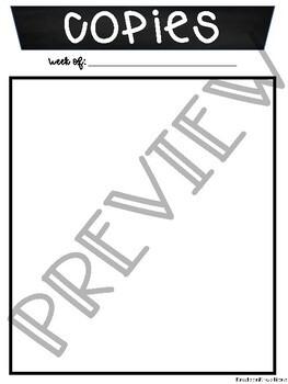 Lesson Plan Template Printable