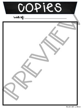 Lesson Plan Template Printable