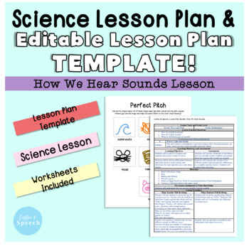 Lesson Plan Template Science Lesson Bundle By Coffee And Speech