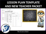 Lesson Plan Template and New Teacher Packet