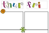 Lesson Plan Template for Binder  Fun and Cute Style