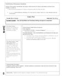 Lesson Plan Template for Workshop Model